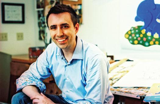 Jarrett J. Krosoczka, Author of the Lunch Lady Series