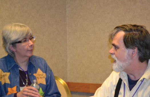 Sharon Lee & Steve Miller, Authors of Fledgling