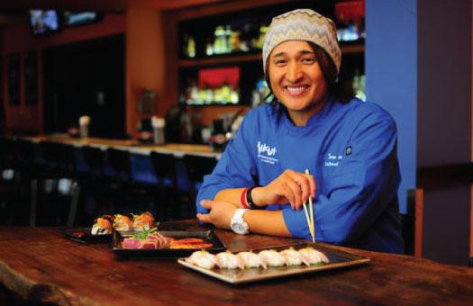 Taro Arai, Author of Abundance: Finding the American Dream in a Japanese Kitchen