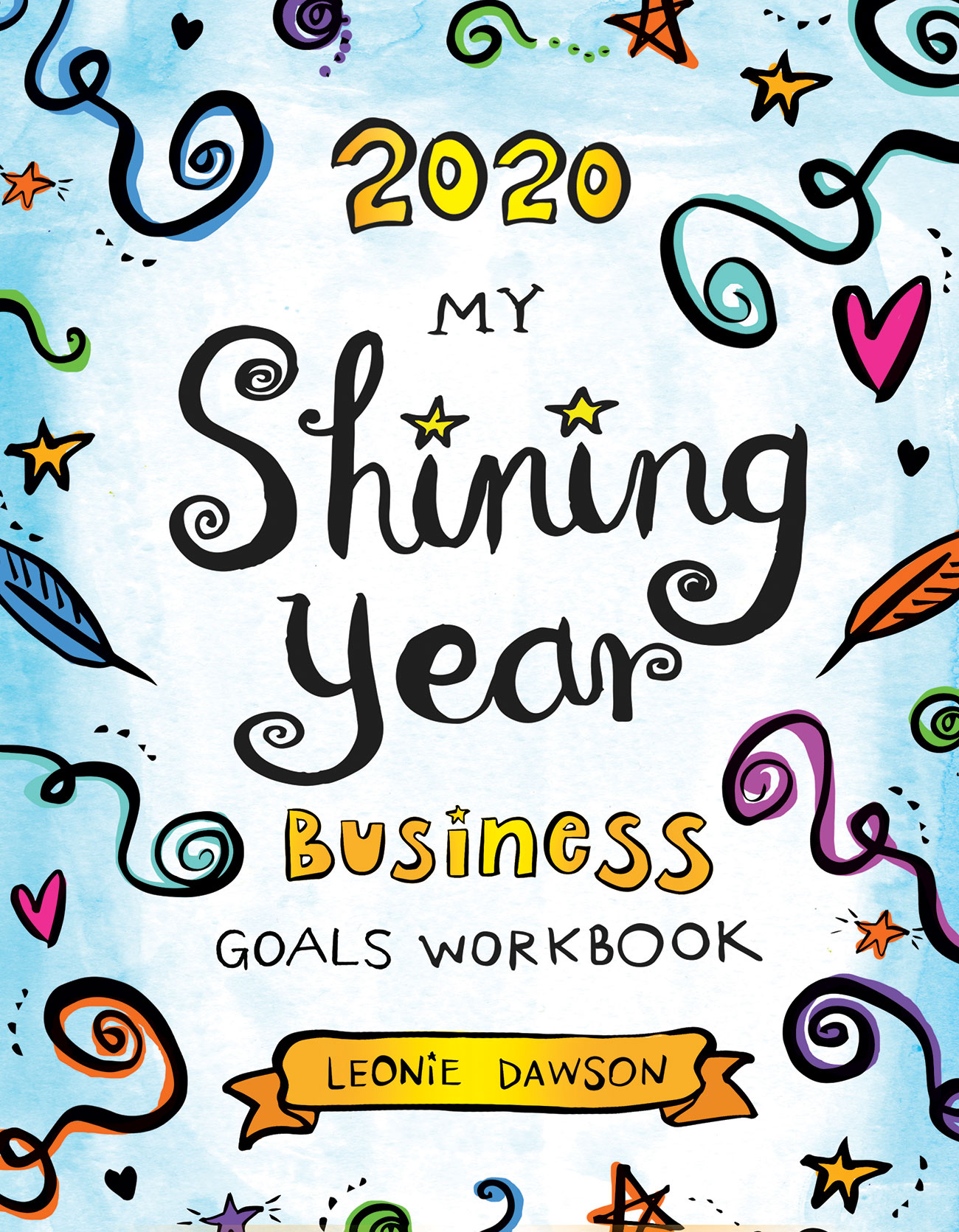 2020 My Shining Year Business Goals Workbook