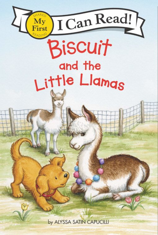 Biscuit and the Little Llamas (My First I Can Read)