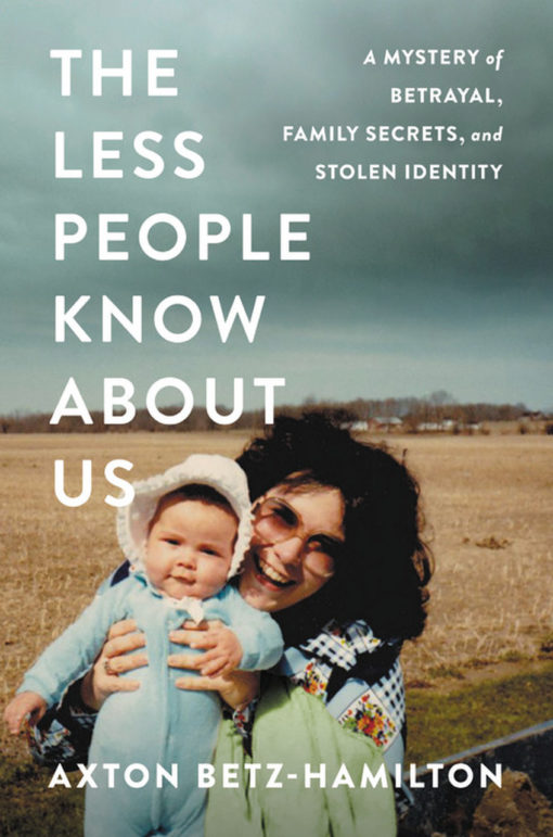 The Less People Know About Us: A Mystery of Betrayal, Family Secrets and Stolen Identity