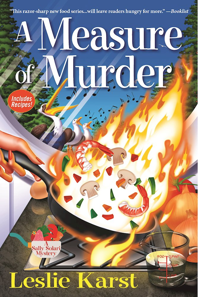 A Measure of Murder: A Sally Solari Mystery