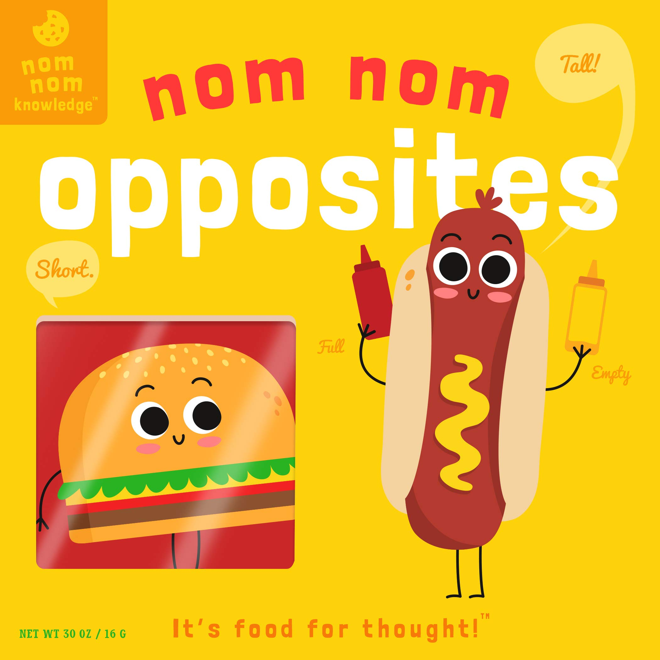 Nom Nom: Opposites (Nom Nom Knowledge)