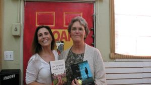 Guest Contributor Jennifer Dwight with Jessica Anya Blau